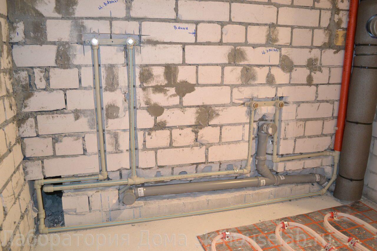 Правила канализации  в квартире 4