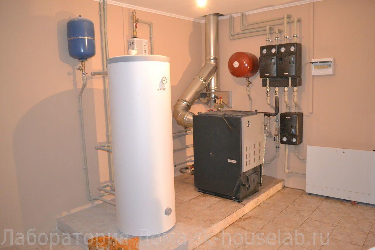 Отопление частного дома на твердом топливе: котлы и печи 67