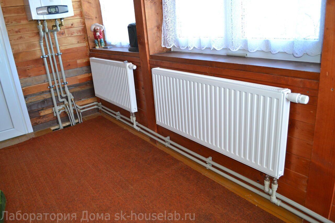 Водяное отопление частного дома: его эффективность в ваших р.