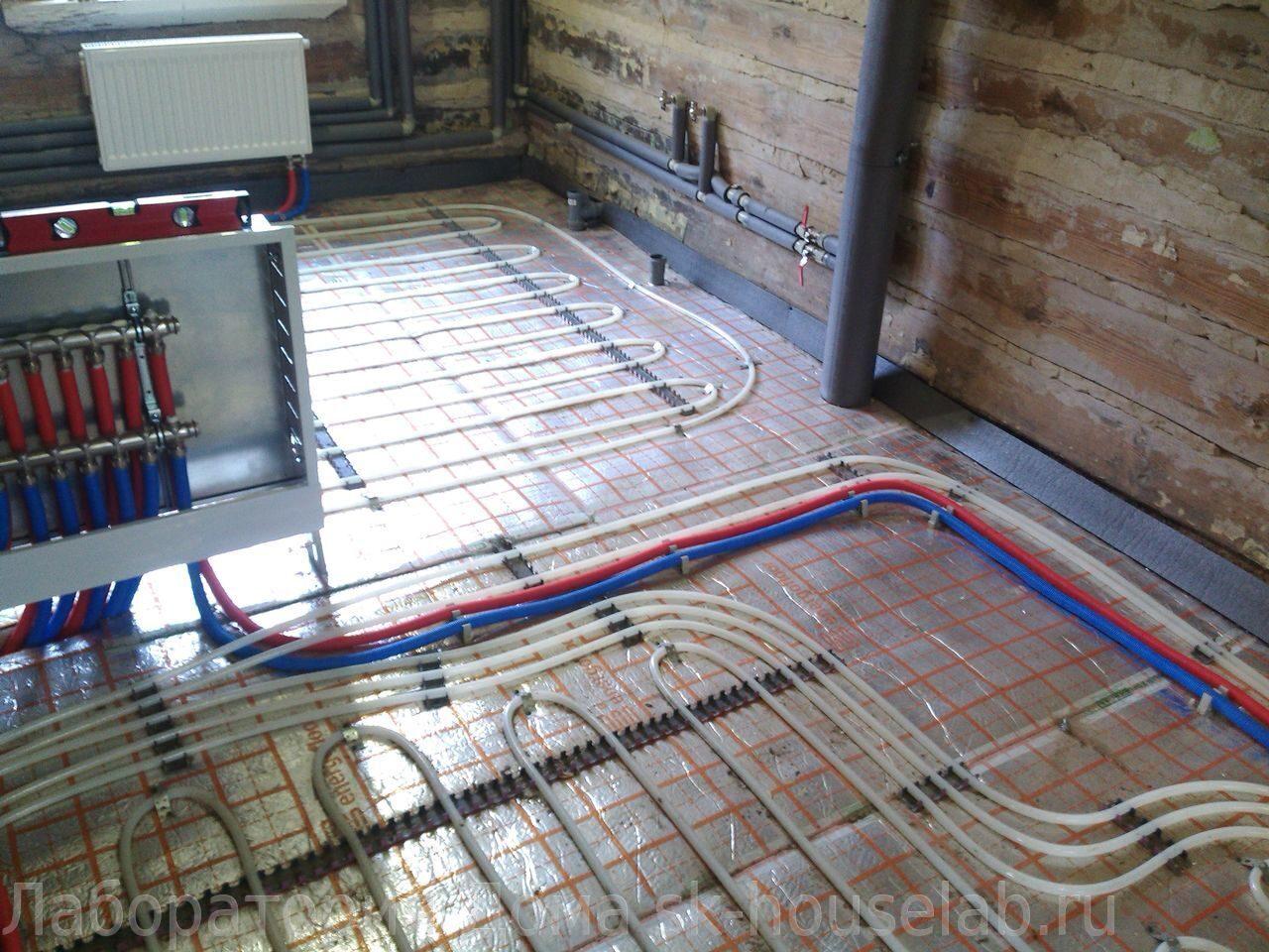 Геотермальное отопление дома установка